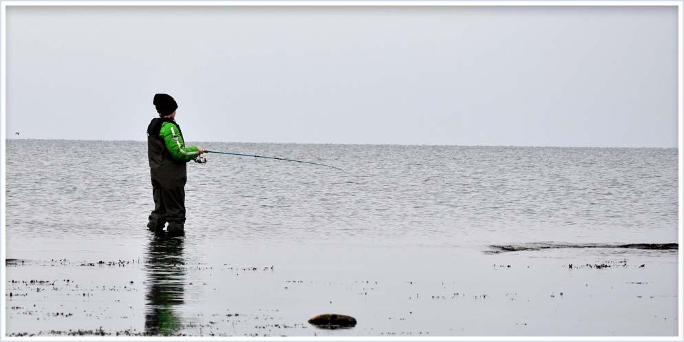 Fishing Gotland, Sweden